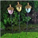 Fiddlehead Fairy House Fairy Home Fairy Garden Acorn Bird houses (3pcs)17238